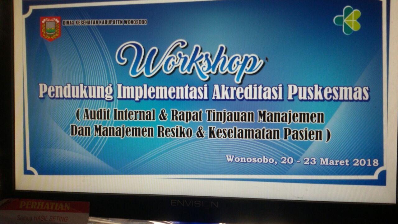 Workshop Akreditasi Puskesmas